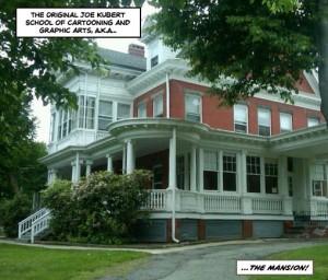 The Joe Kubert School Mansion