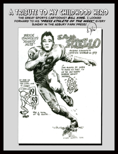 Sports Cartoonist Bill King